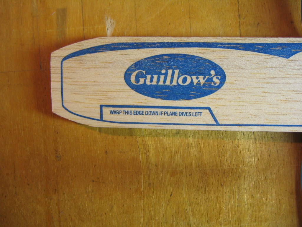 Guillow's Sky Streak 013