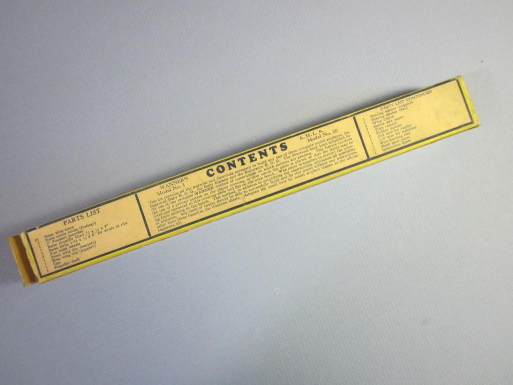 Wanner's Model No. 1 010