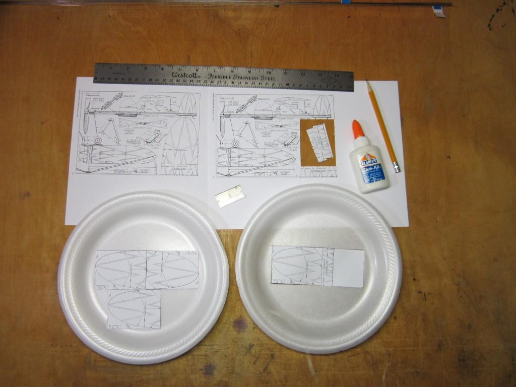 Foam Plate Plane 001