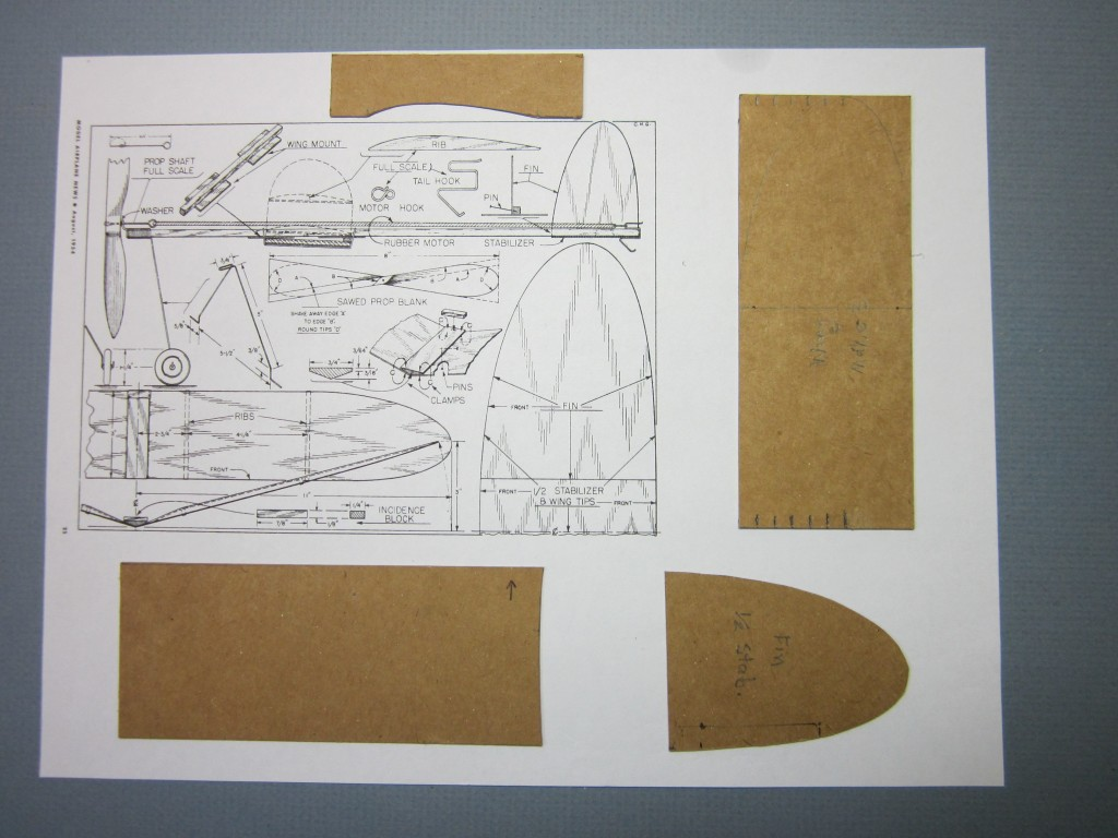 Foam Plate Plane 021