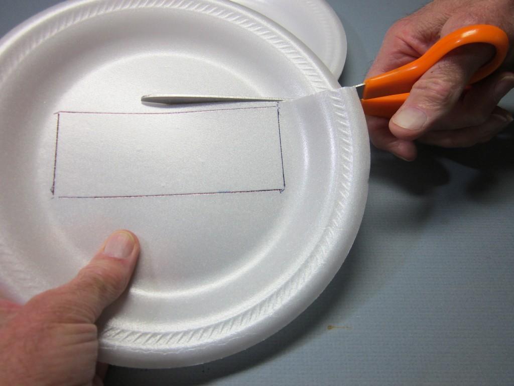 Foam Plate Plane 028