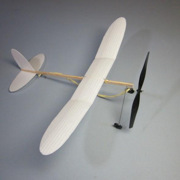 Foam Plate Plane 195